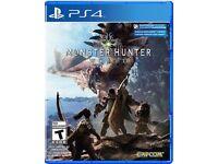 Monster hunter world PS4 £30
