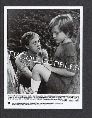 7x9 TV Press Photo~ LIFE GOES ON ~1989 ~Christopher Burke ~Jacob Gelman ~CS