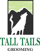Tall Tails Grooming now accepting new clients!