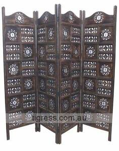 NEW Circle Jali Timber Hand Carved Wooden Screen Castle Hill The Hills District Preview