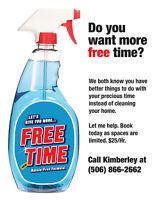 Do you want more FREE time?