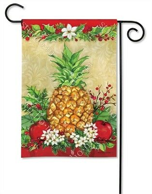 Pineapple Garden - Flag Holiday Pineapple Small Garden Yard Patio House Banner BreezeArt 12.5 x 18