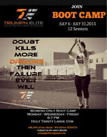 Womans Only Bootcamp! July 6th- July 31st 6-7pm at Holy Trinity