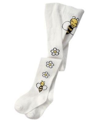 GYMBOREE BEE CHIC FASHION BOTTOM TIGHTS 12 24 4T 5T NWT