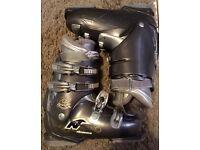 Nordica Ski Boots and Trespass Ski Helmet