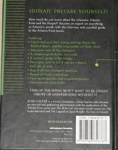 The Artemis Fowl Files Hard Cover Book London Ontario image 2