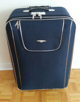 LUGGAGE / VALISE - PERFECT CONDITION - BROWN, BLUE, RED
