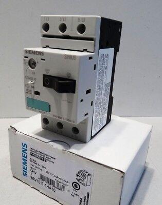 Siemens SIRIUS 3RV1011-1HA10 3RV10 11-1HA10 E-Stand: 07 -unused/OVP-