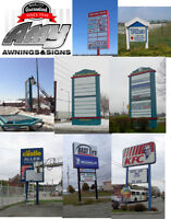 signs store front plastic & pylon signs commercial awnings etc.