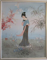 = = = = ASIAN ORIGINAL PAINTINGS ON CANVAS = = = =