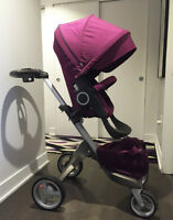 Stokke Xplory Stroller with Carry Cot Bassinet