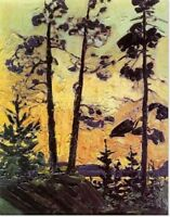 "Limited Edition ""Pines at Sunset"" by Tom Thomson"