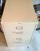 2 drawer Filing Cabinet -free for pickup