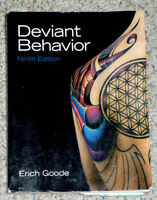 book : Deviant Behavior .. Softcover .. Excellent Condition