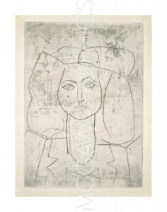 PICASSO-PABLO-PORTRAIT-OF-FRANCOISE-DRESSED-ART-PRINT-14-x-11-4131