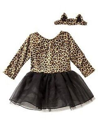 Gymboree Kitty Cat Cute Halloween Costume Dress 6 12 18  24 2T 3T  Nwt