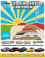 The Official Riverside Car Show 2015 hosted by WMM