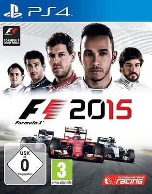 Playstation 4 F1 2015 Formel eins TopZustand (Ps4 Formel Eins)
