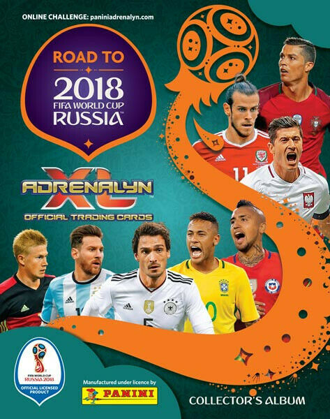 Panini road to russia 2018 | limited editions - xxl - nordic