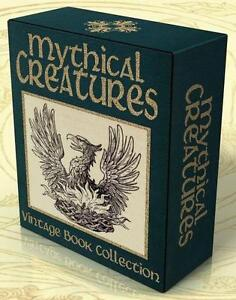MYTHICAL CREATURES 24 Vintage Books + 650 Hi-Res Images on DVD! ABNORMALITIES