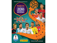 Panini road to russia 2018 cards looking to swap