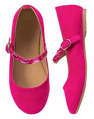 NWT Gymboree Prima Ballerina Pink Dress Shoes Girls 9,10,11,12,13,1,4
