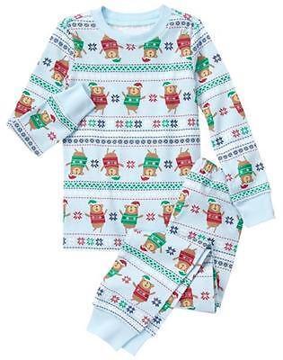 Christmas Boys (NWT Gymboree Christmas Boys or Girls Gymmies Bear Pajama set Holiday many)