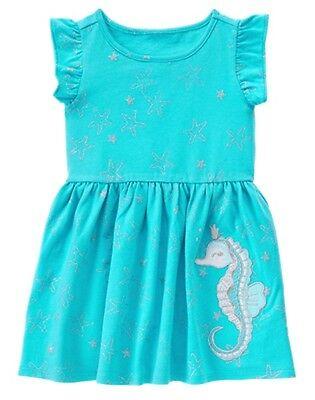 NWT Gymboree mermaid Cove SeaHorse Dress Toddler Girl many sizes