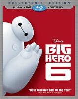 Disney Big Hero 6 - Les nouveaux héros blu-ray + dvd