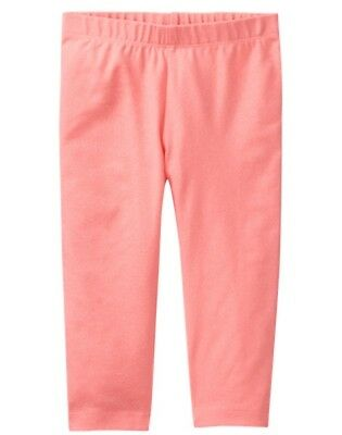NWT Gymboree Coral Sparkle Capri Cropped Leggings Sunny Adventures Girls - Girls Sparkle Leggings