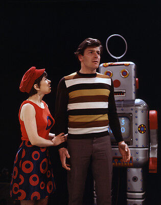 Peter Purves and Jackie Lane UNSIGNED photo - H7250 - Doctor Who