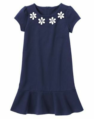 Nwt Gymboree Marina Party Gem Daisy Ponte Dress 4 5 6 7 8 Girls Easter