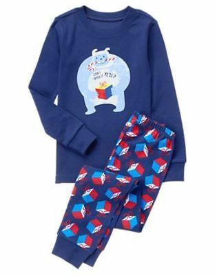 NWT Gymboree Boys Holiday Yeti Gymmies Pajamas set Christmas many sizes (Boys Holiday Pajamas)