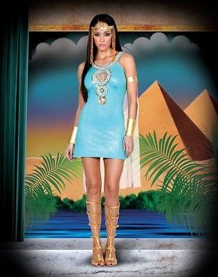 Damen Erwachsener Reiz Queen Of da Nil Kleid Rock - Queen Of Rock Kostüm