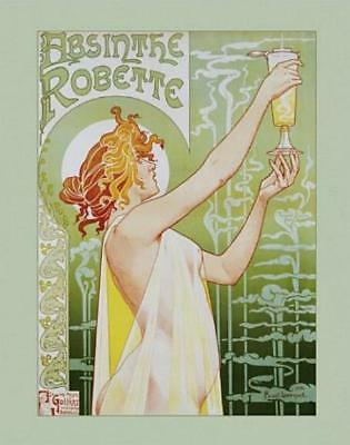 Absinthe Robette - Mini Poster 40cm x 50cm new and sealed