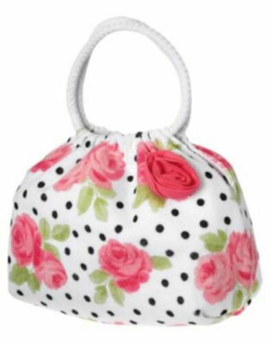 NWT Janie and Jack Poolside Rose Large Terry Purse
