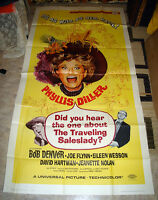 GIANT 1968 PHYLLIS DILLER TRAVELING SALESLADY MOVIE POSTER NM