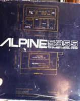 Vintage Alpine 5955 CD Changer Controller -like new