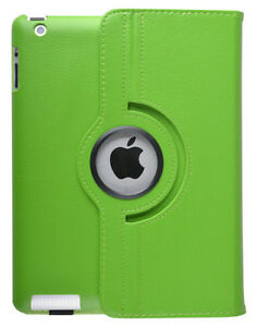GREEN 360 ROTATING PU LEATHER CASE COVER WITH STAND FOR IPAD AIR Regina Regina Area image 9