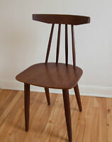 Set of 6 Poul Volther #370 Frem Røjle Teak Chairs