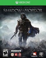 selling shadows of Mordor Xbox one! 30 OBO