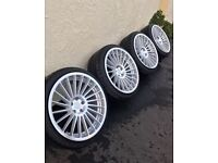 Bmw alloys 20inch rotiforms staggered 5x120