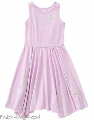 NWT Gymboree Spice market Lavender Dress 4 5 6 7 8 Girls