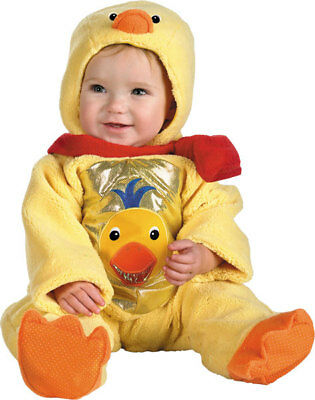 Baby Einstein Cute Rubber Ducky Duck Infant Newborn Child Costume – 0-6 - Cute Newborn Baby Kostüm