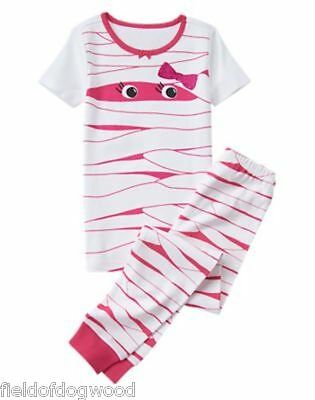 NWT Gymboree Mummy Gymmies Girls 8 10 12 Halloween Pajamas Set