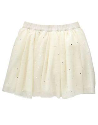 Nwt Gymboree Starry Night Girls Skirt Sz 4 5 6 7 8 10 Sparkle Tulle Tutu Girls