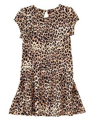 Nwt Gymboree Catastic Leopard Print  Dress Sz 4 5 8 10 Girls