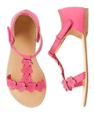 NWT Gymboree Family Brunch Pink Sandals Shoes Toddler and Kids Girl Easter  (Girls Easter Shoes)