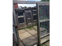 Ex airport dog kennel