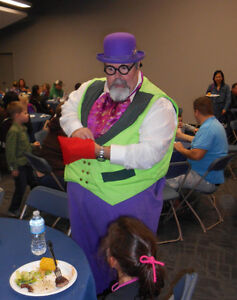 MAGICIAN, CLOWN, FACE PAINTER, BALLOON ANIMAL MAKER Edmonton Edmonton Area image 8